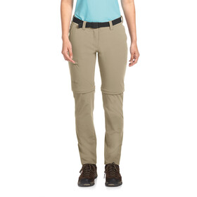 Maier Sports Inara Slim Zip Off Pants Women Regular coriander